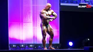 Robert Piotrkowicz - 8th - Arnold Classic Europe 2014