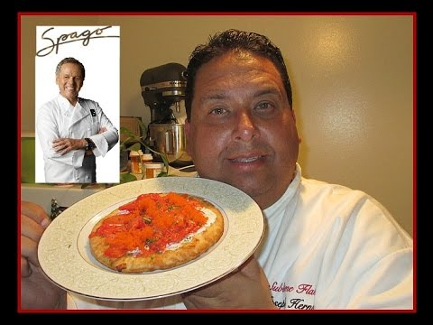 Wolfgang Puck's Smoked Salmon Pizza with Caviar!