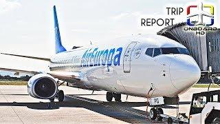 TRIP REPORT   Air Europa   B737 Sky Interior   Madrid - Vigo
