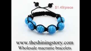 How to buy cheap shamballa style ball beads bracelet wholesale