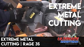Cutting steel channel with the Rage 3S
