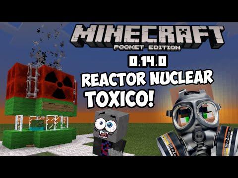 Como hacer un Reactor Nuclear toxico! En minecraft pe 0.14.0  sin mods!