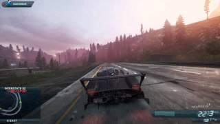 "Need for Speed Most Wanted 2012 ""PAGANI Zonda R"" Free Driving"