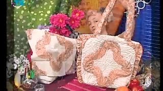 """Quilting. The technique of """"peas"""" sew a bag, pillow and tack"""