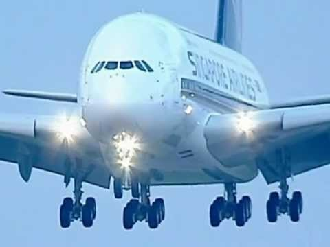 The World's First - Singapore Airlines A380!