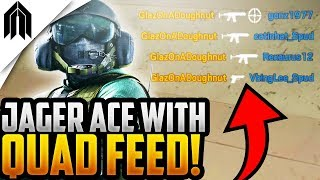 QUAD FEED TO AN ACE! - RAINBOW SIX SIEGE PUBSTOMPING MOMENTS #6