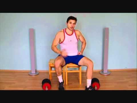 Интересное видео - Как быстро накачать грудные мышцы гантелями.