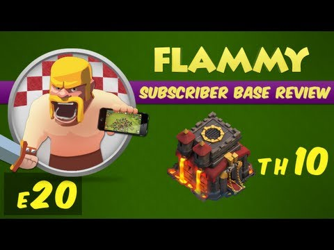 Clash of Clans - Town Hall 10 - Subscriber Base Review #20 - Base Defense Strategy