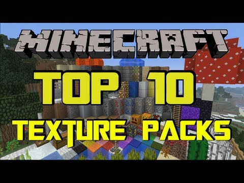 MINECRAFT TOP 10 TEXTURE PACKS [1.7.9] + Download [HD] (German/Deutsch) [1/2]