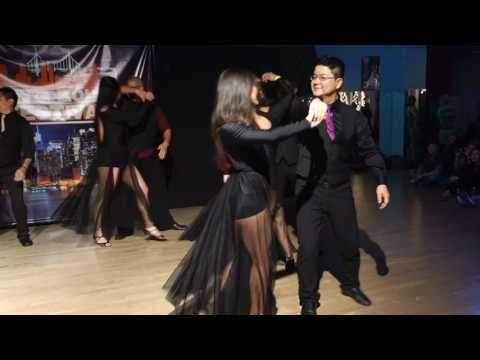 00142 NYCZF2016 Christina and Igor Choreo Team ~ video by Zouk Soul