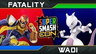 Super Smash Con 2018: Fatality vs Wadi | Top 24