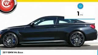 2019 BMW M4 2019 BMW M4 Base FOR SALE in San Luis Obispo, CA B19118