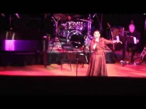 LEA SALONGA singing ADVICE TO A YOUNG FIREFLY by Carner & Gregor - March 14, 2015 at Town Hall