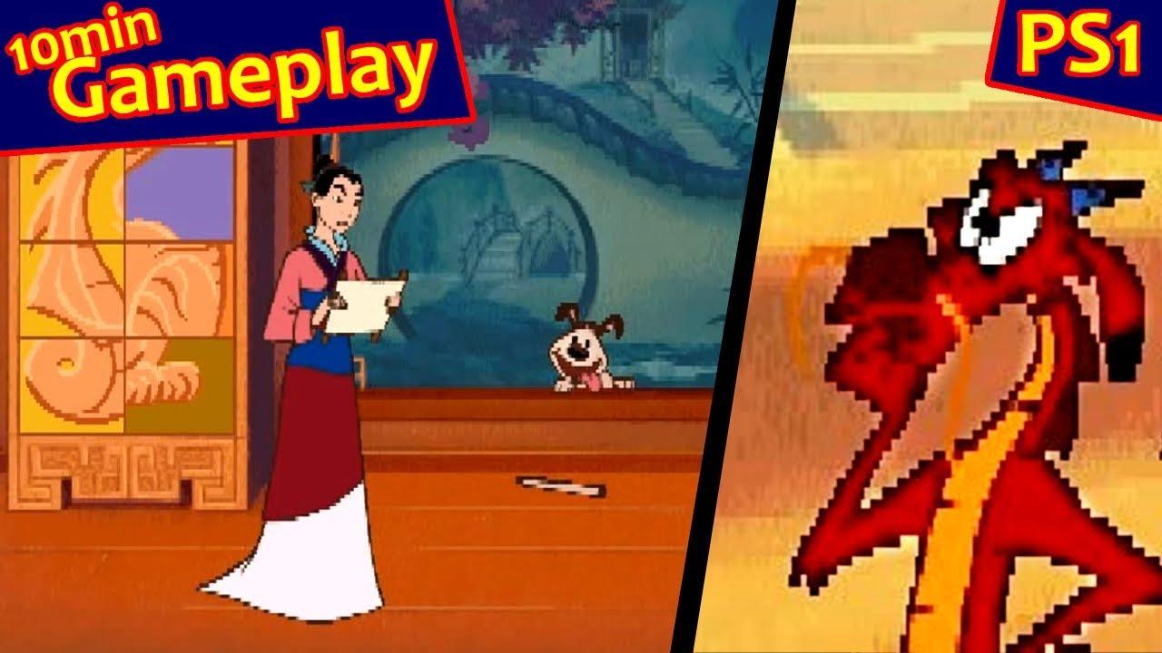 Disneys Animated Storybook Mulan PS1 YouTube