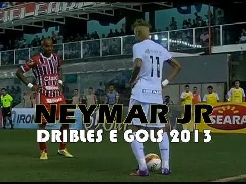 ★ Neymar melhores dribles e gols ★ (10,11,12 , 2013) • FULL HD