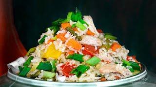 One Pot Chicken Pulao | Lockdown Dinner Recipe | One pot Meal Idea | Easy & Quick Recipe