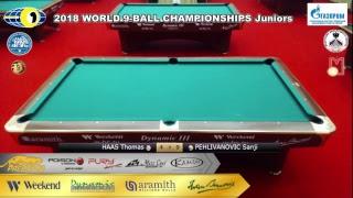 2 Day WORLD 9-BALL CHAMPIONSHIPS Juniors TV3