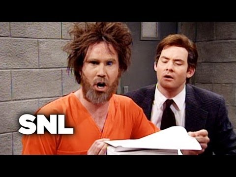 Ted Kaczynski (Will Ferrell) and his brother (David Koechner) meet with infamous lawyers like Johnnie Cochran (Tim Meadows), Leslie Abramson (Cheri Oteri) and F. Lee Bailey (Steve Higgins)...