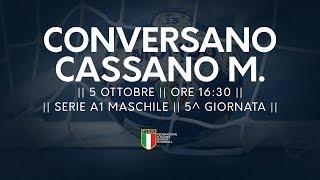 Serie A1M [5^]: Conversano - Cassano Magnago 25-23