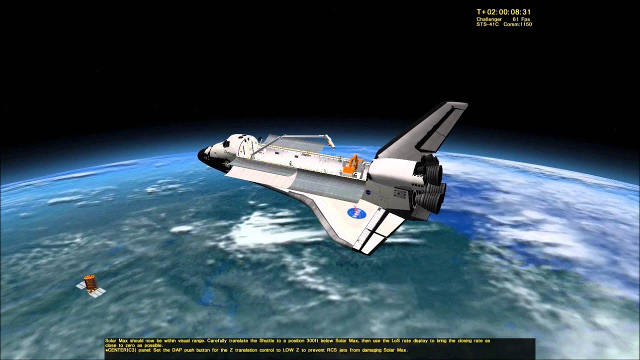 space shuttle mission simulator hints - photo #5