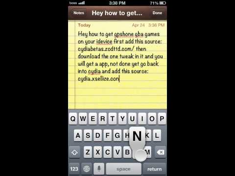 How To Install NEW gpSPhone GBA Emulator FREE on iPhone, iPod Touch & iPad 6.1.3, 6.1.2 + Roms!