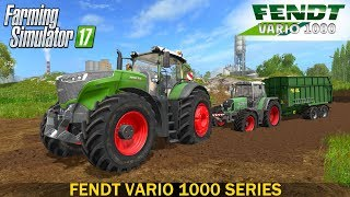 Farming Simulator 17 FENDT VARIO 1000 SERIES TRACTOR