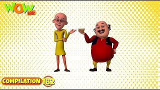 Download Motu Patlu - Non stop 3 episodes | 3D Animation for kids - #181 3Gp Mp4