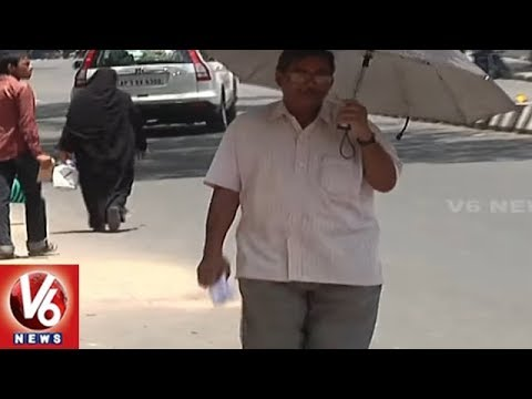 Weather Update: Temperature Levels Increases In Two Telugu States | V6 News
