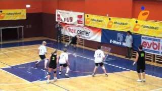 Best of tchoukball - European cup 2011
