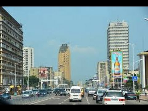 Kinshasa,the capital city of the DRCongo