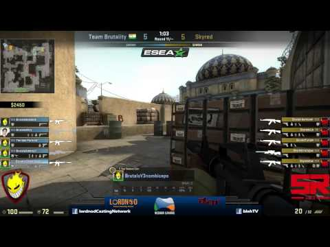 ESEA Open Asia-Pacific: Brutality (India) vs Skyred (Vietnam)