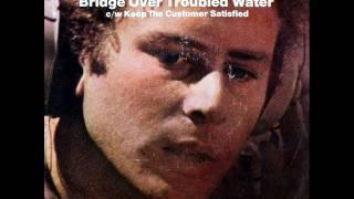 Simon & Garfunkel - Keep The Customer Satisfied, Mono 1970 Columbia 45 record.