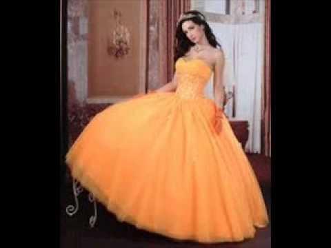 Los Vestidos de 15 Mas Lindos♥ - YouTube