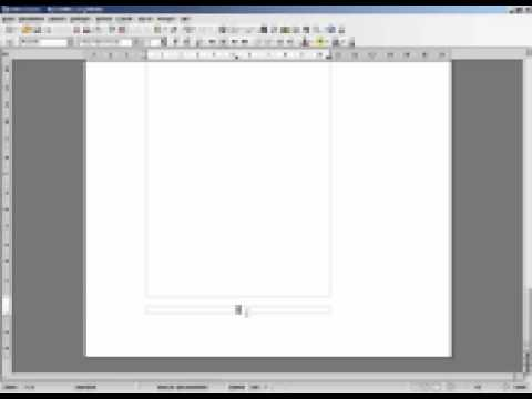 Facharbeit mit OpenOffice erstellen