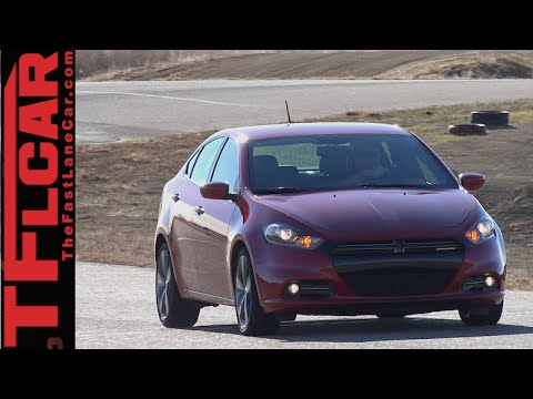 2015 Dodge Dart GT 0-60 MPH TFL4K Review: More Cruiser than Bruiser