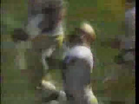 FSU Seminoles at Michigan Wolverines 1991 highlights, Part 1