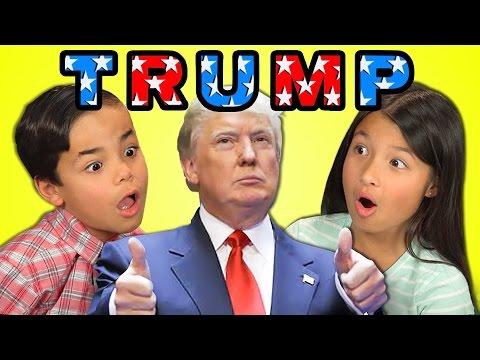 KIDS REACT TO DONALD TRUMP