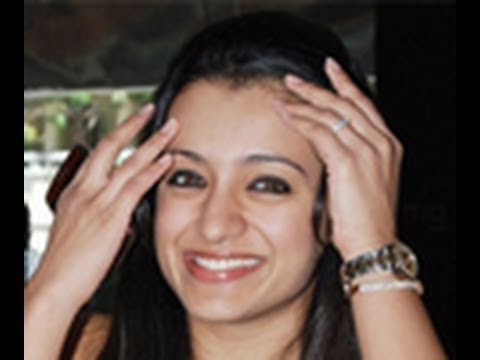 Trisha explains about her Marriage