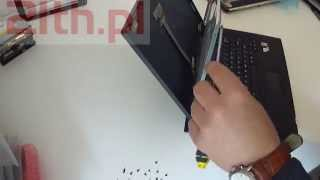 How to replace or remove screen in laptop LCD in HP NX7400 NX7300