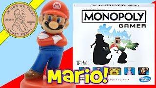 Monopoly Gamer Collector's Edition Nintendo Mario Board Game! -  Hasbro Gaming