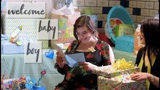 BABY SHOWER VLOG // Baby Boy
