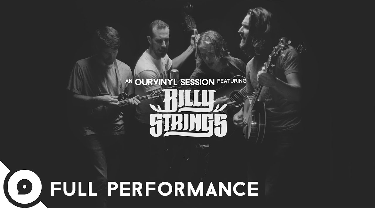 Billy Strings - 「OurVinyl Sessions」フルパフォーマンス、約20分のライブ映像を公開 thm Music info Clip