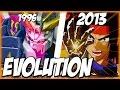 Evolution Of GOD FINGER (1995 2013)   ゴッドフィンガー   SRW