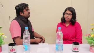 Interview of AIR 8 shivani hardas in ca ipcc by CA Sourabh goel sir ABS FOUNDATION BHILAI
