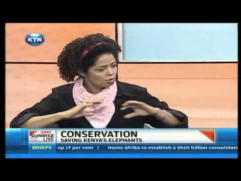 Sunrise Live Interview : Wildlife Conservation - Saving Kenya's Elephants