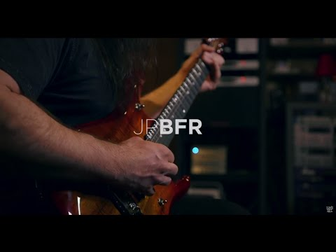 John Petrucci demos his Ernie Ball Music Man JPBFR6