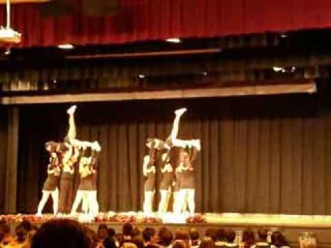 Kewanee High School Cheerleaders Homecoming 2013