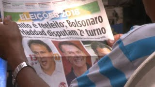 Réactions au Brésil après le raz-de-marée Bolsonaro