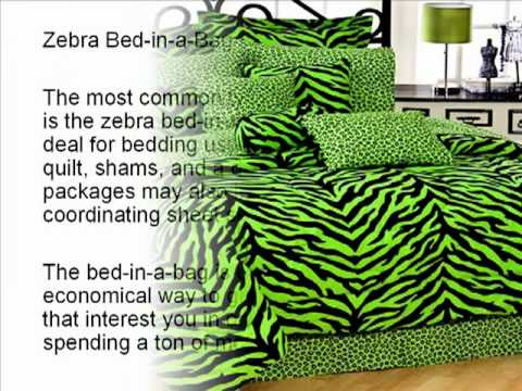 0 Zebra Print Bedding   Bring the Jungle to Your Bedroom