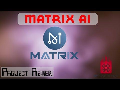 MATRIX AI REVIEW - $MAN - INTELLIGENT BLOCKCHAIN - EASIER + SAFER + FASTER + FLEXIBLE - HYPERLEDGER